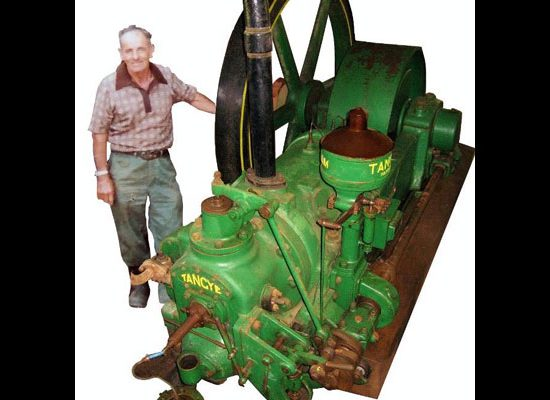 Alexander Sawmill Single Cylinder Tangye Engine