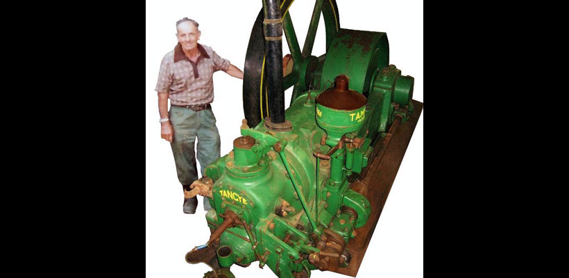 Alexander Sawmill Single Cylinder Tangye Engine